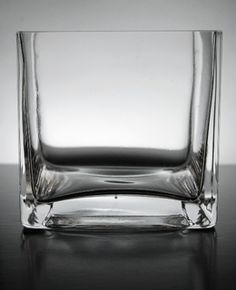 """2.99 SALE PRICE! Explore your creativity with this versatile square glass vase. It is 4"""" tall and made of high quality clear glass. It can make a great ..."""