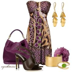 my style Summer Dress...Love this outfit!