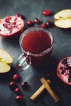 After spending a week in bed, recovering from the flu and a chest infection, I've been searching for ways to boost my immune system this winter. There are many ways to keep colds at bay but my favourite remedy is this Mulled Cranberry, Apple