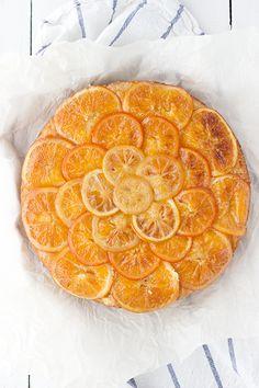 Ricotta $ Citrus Upside Down Crumb Cake