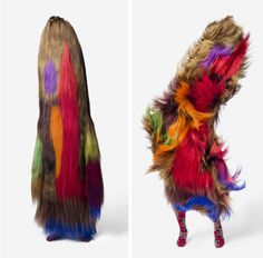 Nick Cave Soundsuit. These soundsuits turn the wearer into something animalistic when in motion they come alive. Photo by James Prinz