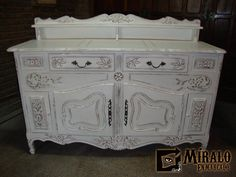 1000 images about muebles restaurados on pinterest - Muebles antiguos restaurados en blanco ...