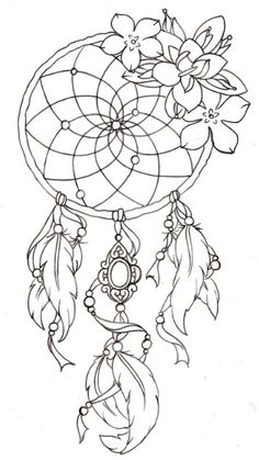 The classic dream catcher.