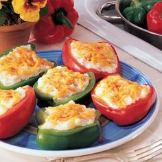 Potato-Stuffed Peppers Recipe