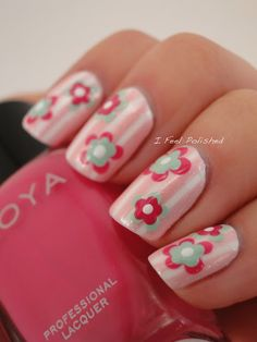 Easy Nail Art Flowers