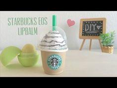 DIY Starbucks EOS Lip balm Container - YouTube