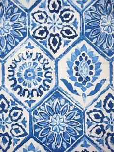 "Summer Breezes, Cobalt - 25""V/13.5""H. ($19.95/yd) - kitchen seat covers? 