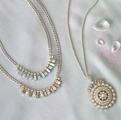 Perfect accessories for the bride! www.candibychristine.com