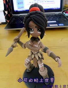League of Legends LOL Handmade Lightweight Clay Nidalee Action Figure - See more at: http://www.lolamz.com/league-of-legends-lol-handmade-lightweight-clay-nidalee-action-figure-p-3050.html#sthash.7mirFffA.dpuf