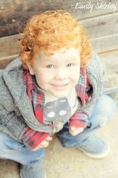 I have a thing for kids with red curly hair lol.. Reminds me on my little red
