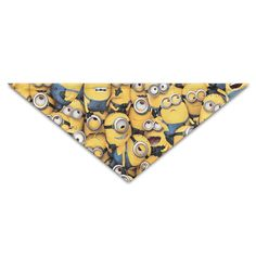 ALIIXUN2 Cute Minion Pets Dogs Cats Puppy Bandana Bibs Triangle Head Scarfs Accessories >>> Stop everything and read more details here! : Dog Bandanas