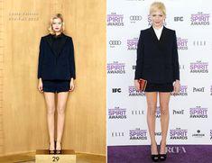 Michelle Williams In Louis Vuitton - 2012 Independent Spirit Awards