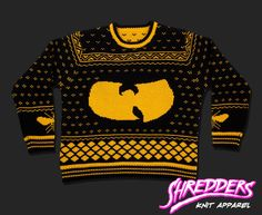 """36 Chambers Knit """"W"""" Sweater (PRE-ORDER)"""
