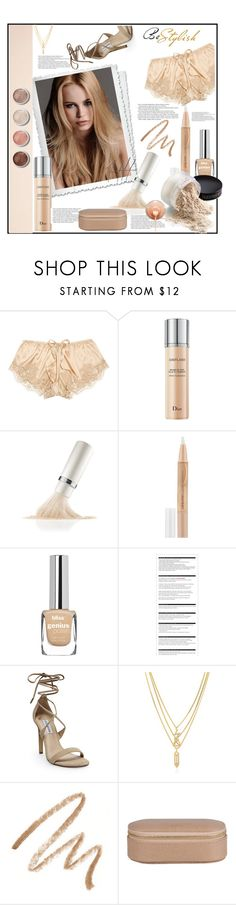 """S A N D"" by zerinafe ❤ liked on Polyvore featuring beauty, Dolce&Gabbana, KAROLINA, Christian Dior, La Mer, Maybelline, Nico, Arche, Steve Madden and Terre Mère"