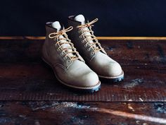 New winter boots by Red Wing Heritage