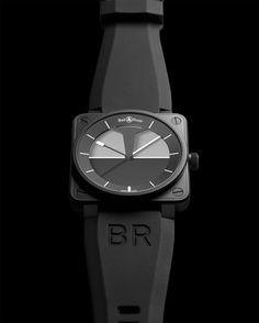 ¿Te gusta el nuevo Bell & Ross BR01 Horizo edición limitada? Más imágenes e información: http://bit.ly/LGgJ5T    #relojes #altarelojeria #bellandross