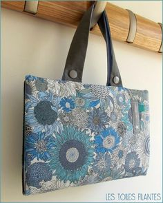 Bag tutorials and patterns on pinterest amy butler for Malette couture