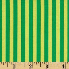 Michael Miller Stripes Clown Stripe Sprout Green