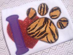 I love Tigers Bodysuit by kissedwithcreativity on Etsy, $25.00
