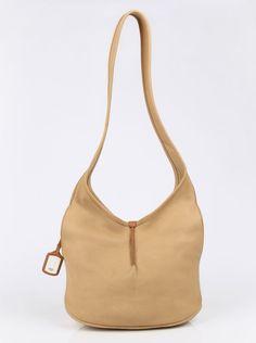 Ugg Australia Desert Sand Beige Genuine Leather Classic Crossbody Hobo Bag