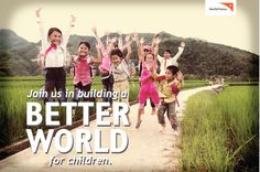 Thank you for joining us in building a better world for children through our holistic community development model! For more information and to join in, check out: http://www.worldvision.org/m/sponsor-a-child/index2.php?open=105418306