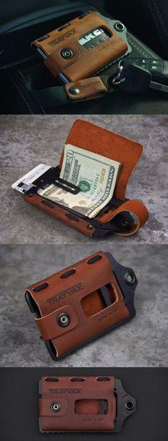Trayvax Element Front Pocket EDC Minimalist Wallet - Everyday Carry Gear #edc #wallet