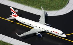 1/400 GeminiJets British Airways Embraer ERJ-190 Diecast Model