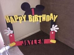 Mickey Picture Frame