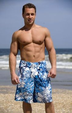 Men's Swim Shorts - Free Pattern + Instructions