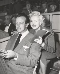 Betty Grable & Harry James