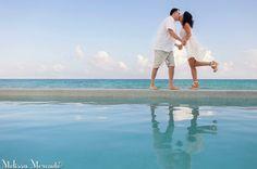 love as deep as the sea // couples portraits at Grand Coral Beach Club in Playa del Carmen, Riviera Maya, Mexico