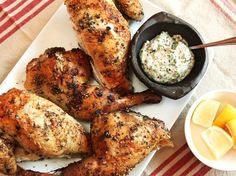 Grilled Chicken With Za'atar
