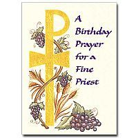 Blessings for a special priest priest birthday card bdat priest a birthday prayer for a fine priest m4hsunfo
