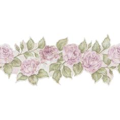 Brewster 9 in. Budded Rose Border ($0.99) ❤ liked on Polyvore featuring flowers, backgrounds, fillers, decorations, effect, embellishments, borders, detail and picture frame