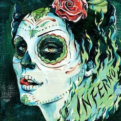 Inferno Illustration / DesginerMX   Jacqui Oakley Illustration & Hand-Lettering