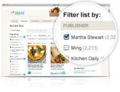 Search & save recipes from 1000′s of popular food websites and with one click save the recipe to your universal recipe box, and add the ingredients directly to your grocery list. Quickly sort favorite recipes by source, ingredients or cook time. Add recipes to your meal planner queue or plan them for a specific day to stay organized.