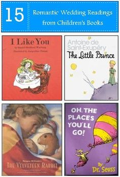 Quotes About Wedding & Love: Romantic Wedding Readings from Childrens Books