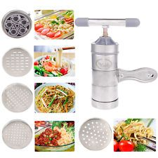 Stainless Steel Pasta Noodle Maker Fruit Juicer Press Spaghetti Kitchen Machine for sale online Spaghetti Kitchen, Manual Juicer, Noodle Maker, Fruit Juicer, Kitchen Machine, Pasta Noodles, Home And Garden, Stainless Steel, Juicers