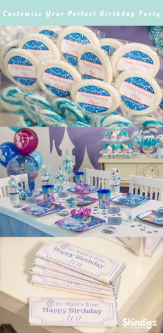 Use a little bippity boppity boo of your own to create a little Cinderella birthday party magic for your favorite princess with the great supplies and fabulous prices you'll find at Shindigz. Begin with a fabulous entrance for guests with a personalized princess castle or horse and carriage standee. Explore all our girl birthday party ideas & save 10% promo code SZPINIT until 12/31/18 11:59 PM EST.