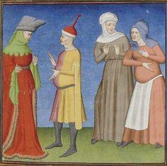 Publius Terencius Afer, Comoediae [comédies de Térence] ca. 1411;  Bibliothèque de l'Arsenal, Ms-664 réserve, 69r