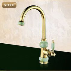 Reviews European natural jade and gold kitchen faucet hot and cold vegetables basin rotating taps all copper antique ♡ Prices European natural jade and gold kitchen faucet hot  Coupon  European natural jade and gold kitchen faucet hot and cold vegetables   Data : http://shop.flowmaker.info/yhx1p    European natural jade and gold kitchen faucet hot and cold vegetables basin rotating taps all copper antiqueYour like European natural jade and gold kitchen faucet hot and cold vegetables basin…