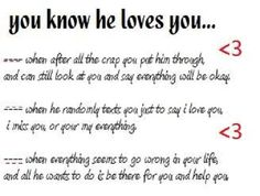 Love Quotes I - I Miss You Quotes - Love Quotes and Sayings. I know he lives me bc he does ALL of these things. Love Quotes For Her, Love Yourself Quotes, Quotes For Him, Cute Quotes, Great Quotes, Words Quotes, Quotes To Live By, Inspirational Quotes, Mom Quotes