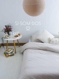 Choose to be happy with SISOMDOS :) #sisomdos #happy #soft #jerseybeige #design #interiordesing #bed