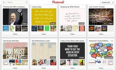"""OMG, a Pinterest board within a Pin! How meta. """"The HM Team Gets Pinteresting"""""""