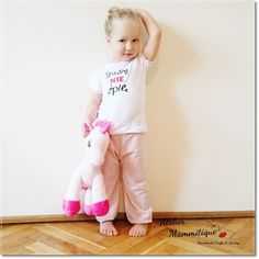Piżamka dziewczęca - DZISIAJ NIE ŚPIĘ