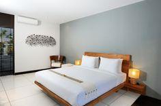 Discover the Art of Tropical Living at Paya-Paya Villa, Bali #architecture #interiors #bedroom
