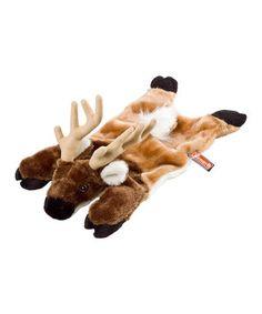 Look what I found on #zulily! Trophy Elk Pet Toy by Coleman #zulilyfinds