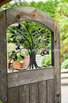 安っぽい果樹錬鉄製のゲートのデザインの装飾 - m.japanese.alibaba.comでのドア、窓用品からのドア内。