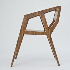 Very modern plywood chair. This chair is our signature piece. Plywood Chair, Plywood Furniture, Furniture Plans, Cool Furniture, Modern Furniture, Furniture Design, Modern Wood Chair, Furniture Removal, Furniture Chairs
