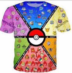 Hip Hop Cartoon Pokemon Pikachu T Shirt For Men Women Print Short Sleeve Tshirt Fashion Clothing Anime Camisetas Christmas Shirt